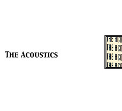 THE ACOUSTICS<br>2012.10.20 Release<br>12曲入 / ¥1,000<br><br>01. THE NIGHTBIRDS<br>02. MORNING SUN<br>03. LEAVE ME ALONE<br>04. LULLABY<br>05. DRIVE MY HOOPTY<br>06. SOLDIER BLUES<br>07. 10000 DAYS<br>08. UNTITLED<br>09. IS THIS THE END?<br>10. WALK ON BY<br>11. WASTELAND<br>12. STATE OF MIND
