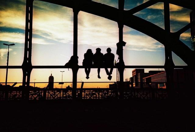 Watching an Urban Sunset