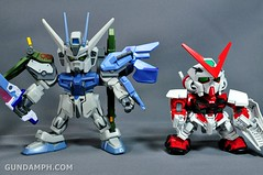 SDGO SD Launcher & Sword Strike Gundam Toy Figure Unboxing Review (50)
