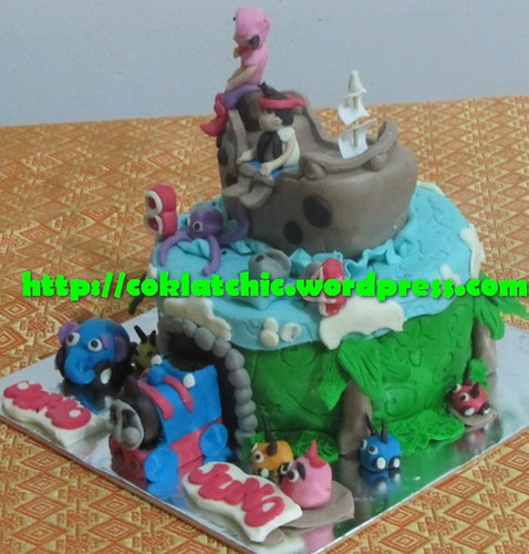 Cake jungle Junction, Jack in the neverland island dan thomas