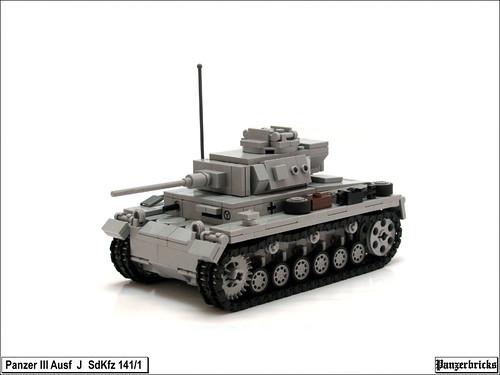 Panzer III Ausf J de Panzerbricks
