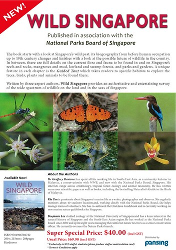 Wild Singapore super special offer to NUS