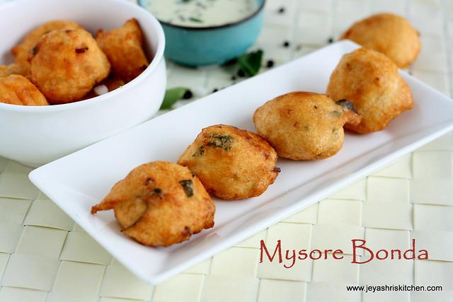mysore bonda 2