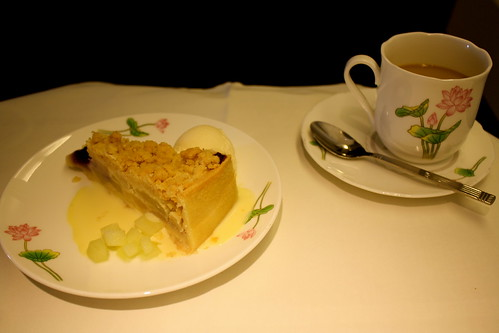 Dessert on Eva Air