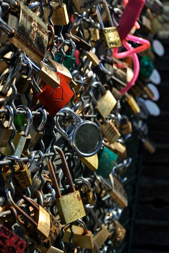 Paris - Love Locks on the Pont des Arts