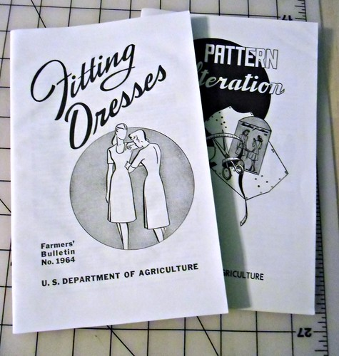 Sewing books via Dept of Agriculture