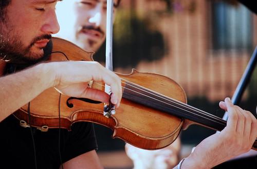 Musicante violino by brunifia