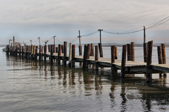 The Dock at China Camp - Marin County - 2013