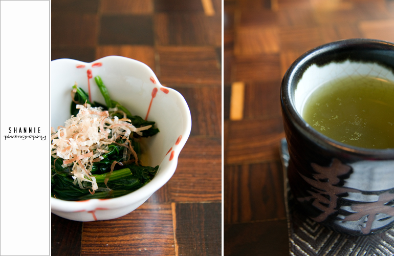 Appetiser at Aoki 青木
