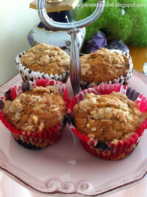 Muzlu Fındık Kıtırlı Muffin