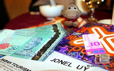 Travel Essentials: Malaysian Ringgit, Passport, & Local Phone Sim Card