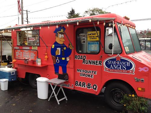 bbq food cart portland