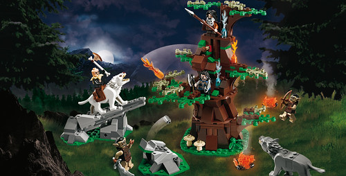 The Hobbit 79002 Attack of the Wargs