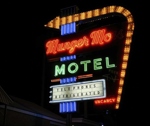 Munger Moss neon photo copyright Jen Baker/Liberty Images. All rights reserved; pinning to this page is okay.