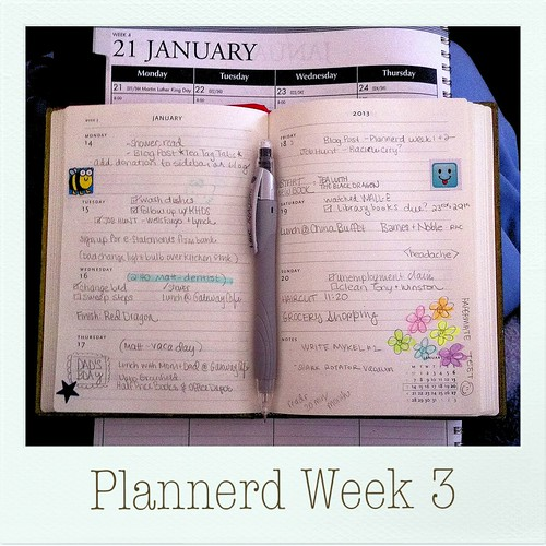 My Plannerd Week 3