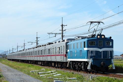 デキ303+11032F @新郷〜武州荒木