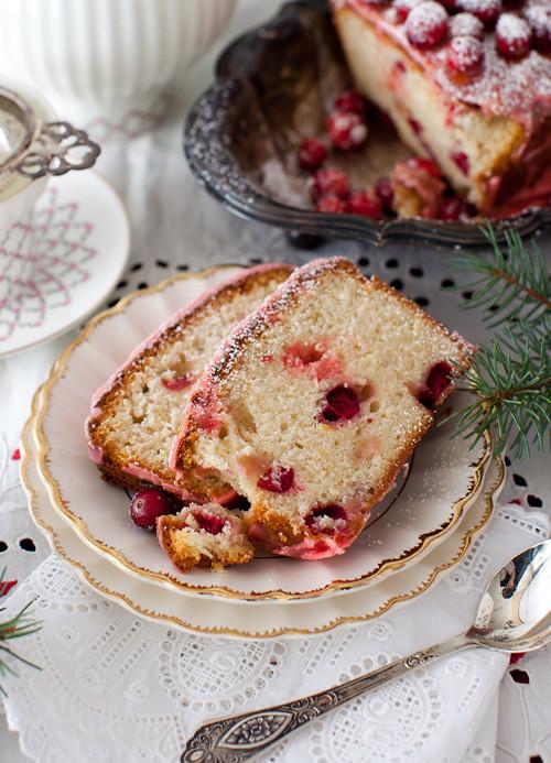 Lemon Cranbbery Cake 3