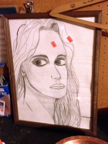 Odd portrait