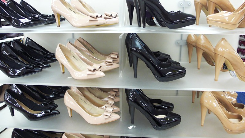 Shoes in Marks and Spencers