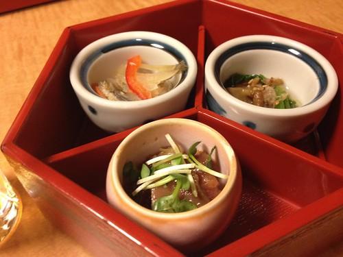前菜3種@銀魚 (ぎんぎょ)