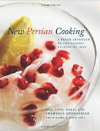 have books, will travel: New Persian Cooking by Jila Dana-Haeri