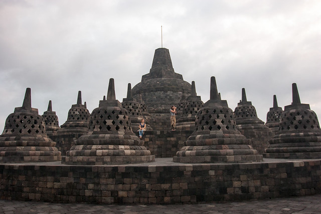 BOROBUDOR - The Biggest Buddhist Temple in the World Guide Read More: https://awesome.blog/awesome/2012/10/borobudor-buddhist-temple.html