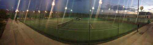 Pista de tenis en Rivas