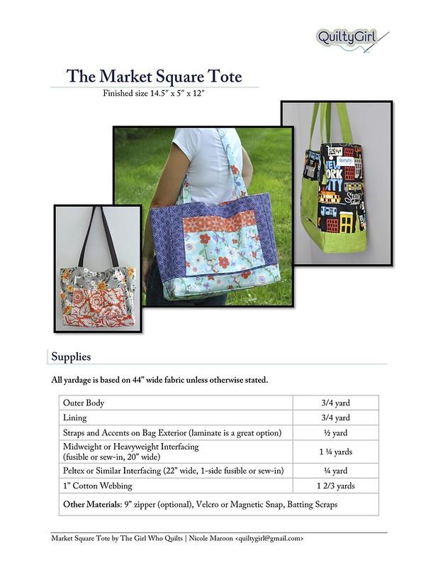 Market Square Tote