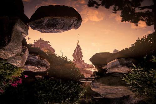 Dark Disney : Reflection of a Mirage (Disneyland Paris) - Photo : Gilderic