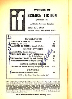 if table of contents