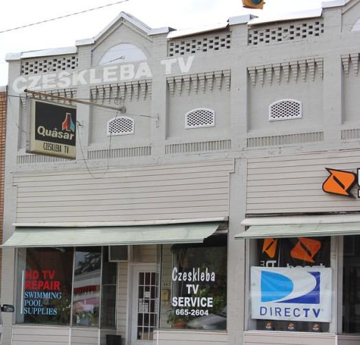 Old Quasar Sign, Downtown Montevallo AL
