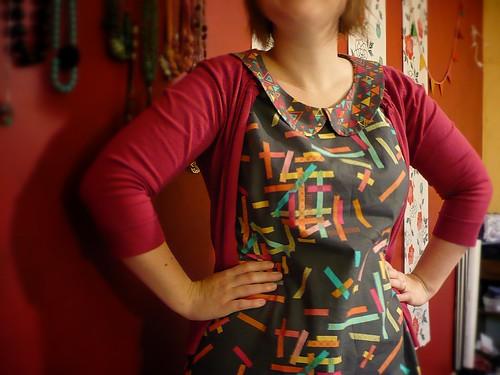 Sewaholic Alma dress in Washi fabric