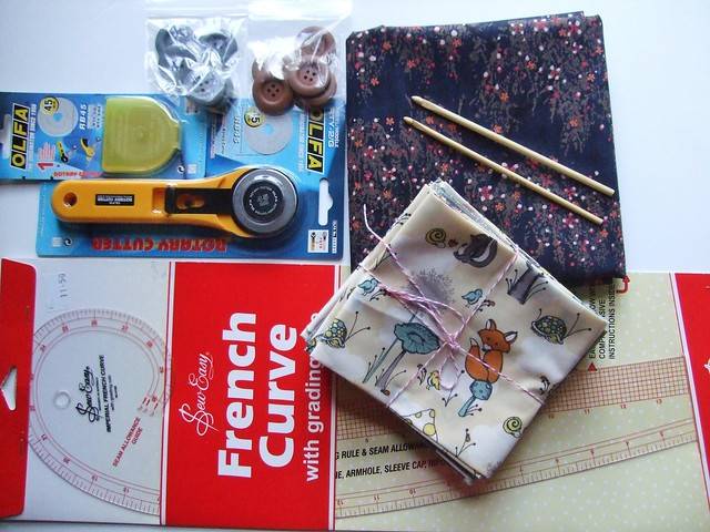 Knitting and Stitiching Show goodies