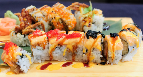 Spider Roll, Tiger Maki
