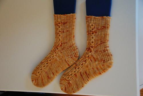 Candelabra Socks