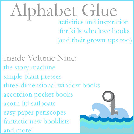 Alphabet-Glue-Volume-nine-Logo