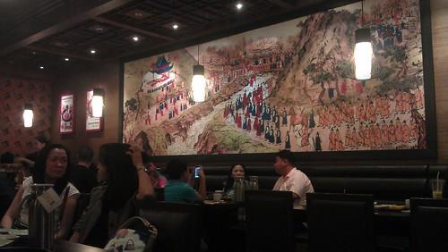 Bulgogi Brothers dining area