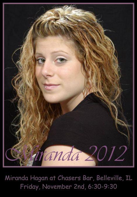 Miranda Hagan 11-2-12