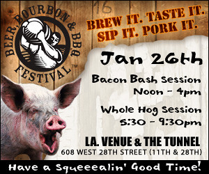 Free Beer Bourbon BBQ Tickets Giveaway