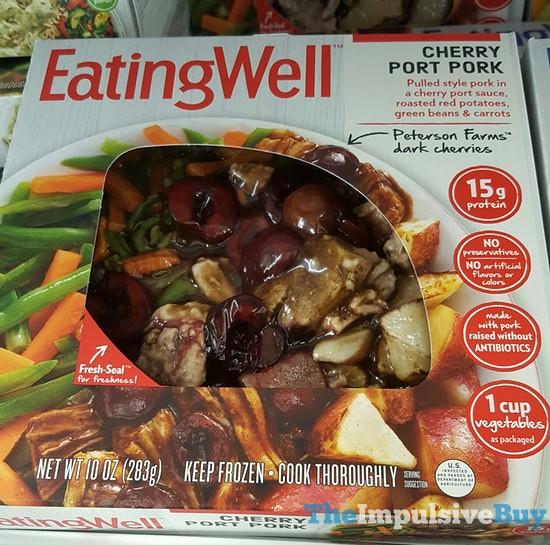 Eating Well Cherry Port Pork