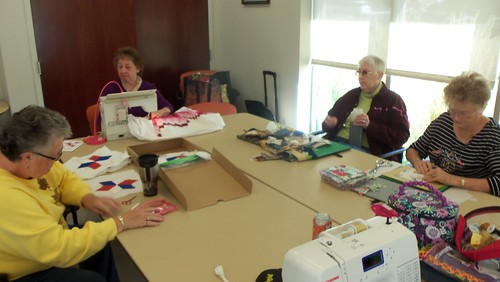 Tuesday Sewing Group... by ruthiequilts