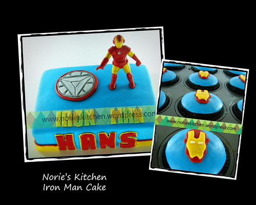 Norie's Kitchen - Ironman Cake by Norie's Kitchen