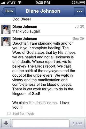 Complete healing