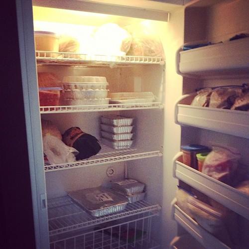 I can't stop. #freezing #freezer #food