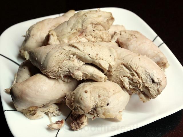 croquetas de pollo y chorizo (chicken & chorizo croquettes)