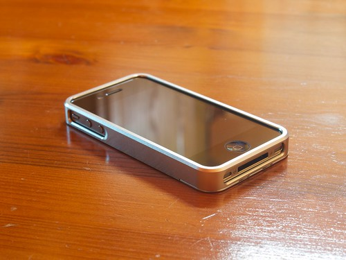 "Precision by Gramas ""A"" Full Metal Case for iPhone 4/4S"