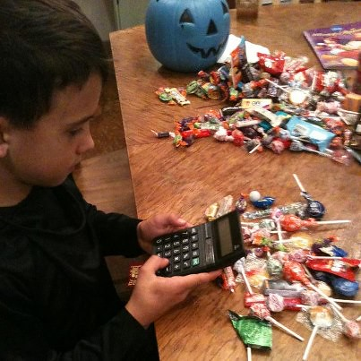 Candy counting