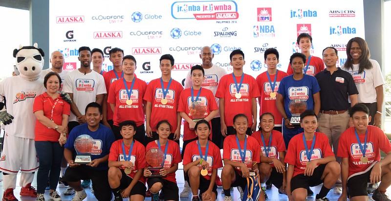 Jr NBA Philippines 2016 All-Stars
