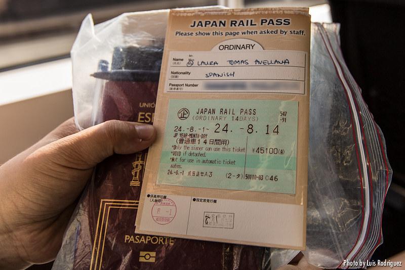 Cómo canjear el JR Pass en Japón