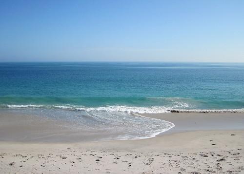 Calm ocean day at Vero Beach